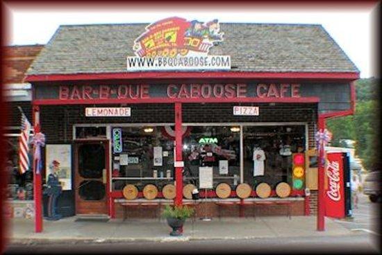 The Bar B Que Caboose Cafe Lynchburg Tn