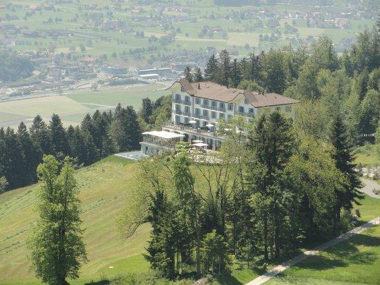 Hotel Villa Honegg: Fernblick Hotel