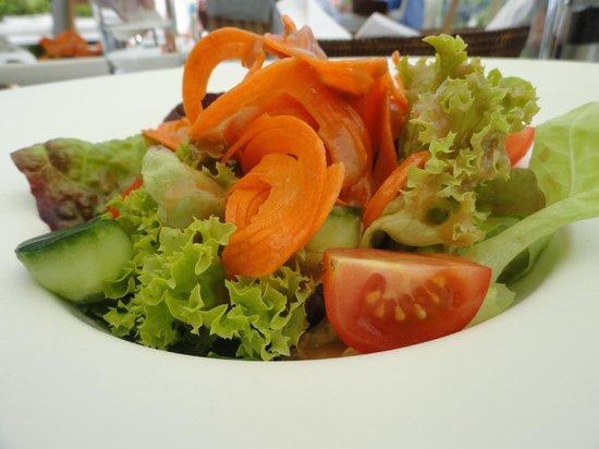 Hotel Villa Honegg : saisonaler Salat