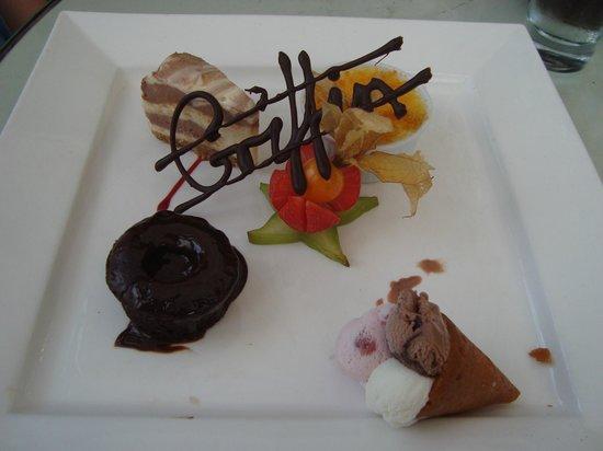 The Griffin: Dessert platter - Heaven
