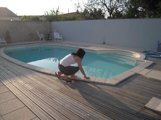 Les Phoenix: la piscine