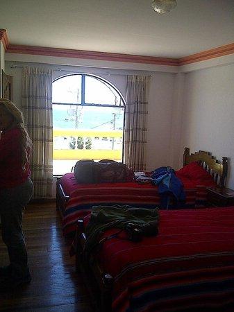 Hotel Mirador: Notre chambre