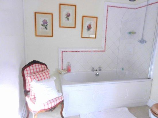 Home Farm Bed & Breakfast: spacious ensuite -pink room
