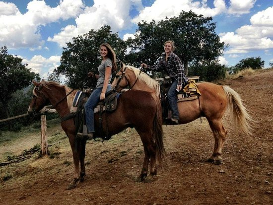 Telluride Horseback Adventures - Ride with Roudy: Carla and Amy - Two of the Wranglers