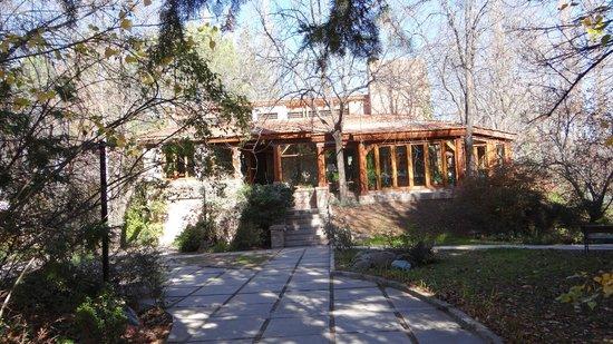 Casa Glebinias: entrada