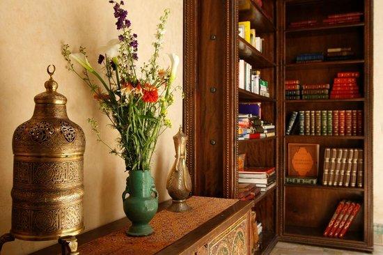 Riad Kniza: Library