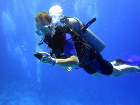 Scuba Hurghada Diving Center: Ik kan nog even.