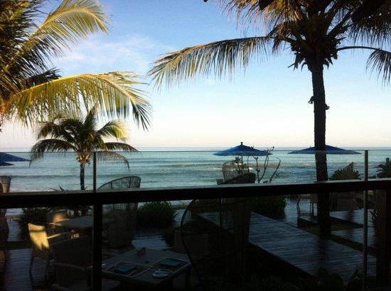 Natai Beach Resort & Spa, Phang-nga: Breakfast area !! My favourite