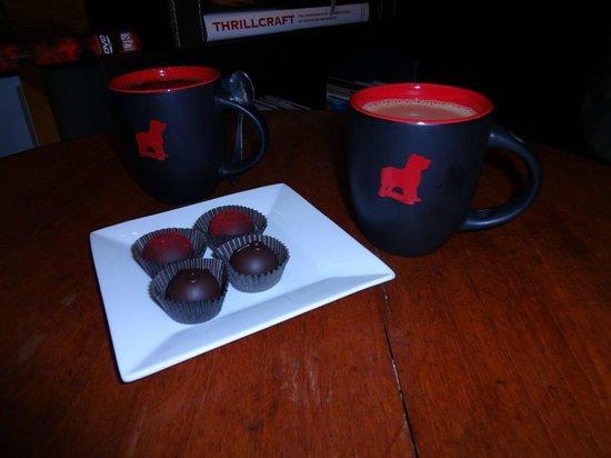 Eating Asheville : Chocolate truffles
