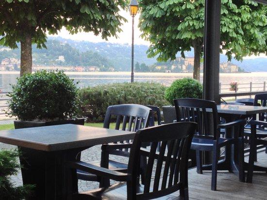 Ristorante Imbarcadero: Un pezzo del paesaggio che si può ammirare