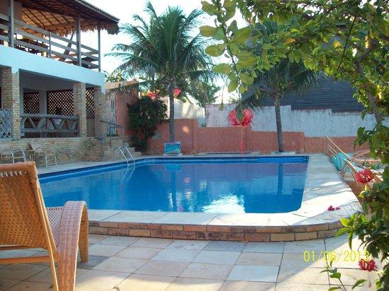 Pousada Vale Do Luar: piscina bem funda 165 altura a 2,10