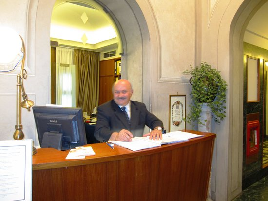 Hotel Tornabuoni Beacci: Friendly Service!
