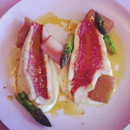 Restaurante Fishka: salmonete