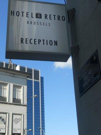 Hotel Retro: esquina hotel