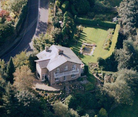Kinrara Bed and Breakfast: Aerial view of Kinrara B&B