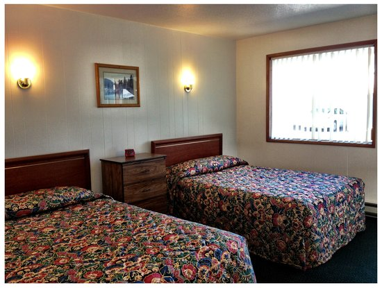 Ilwaco, WA: 2 Double Beds Room