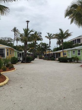 Beachview Cottages: view from the beach