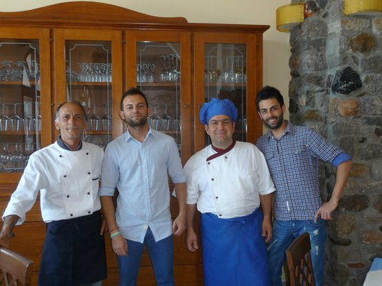 Al Tramonto : The team inside their delightful restaurant