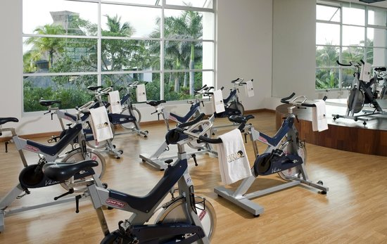Grand Luxxe Riviera Maya: Brio Spa & Fitness Center Spinning Class