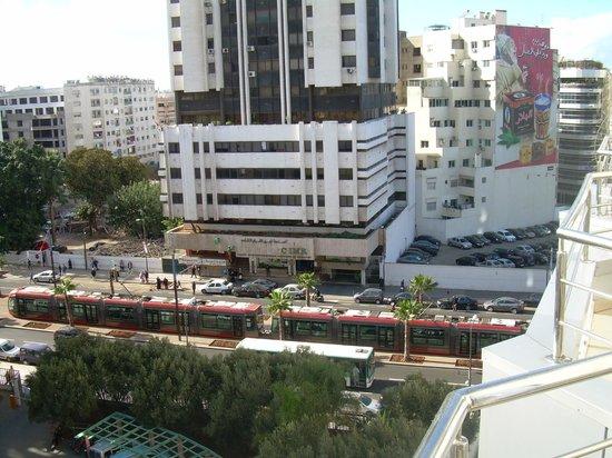 Business Hotel: vue du balcon de l'hotel