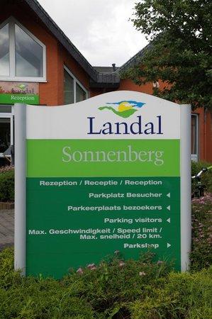 Landal Sonnenberg: Bord van het park