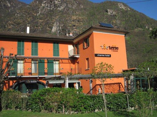 T3e Terre: Hotel front