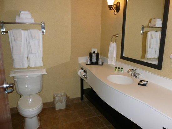 Best Western Plus Frontier Inn: The Bathroom
