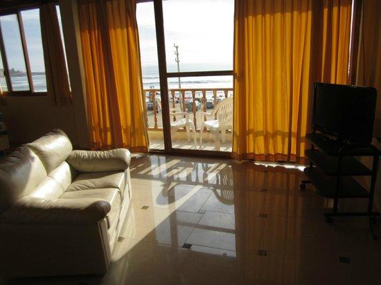 Agetaway Hotel: balcón de suite matrimonial con vista al mar