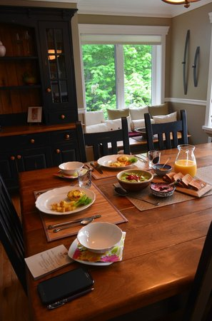 Island Estuary B&B: Breakfast
