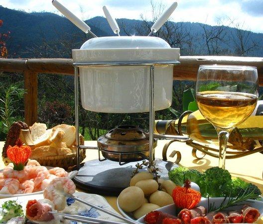 Pousada das Andorinhas: fondue