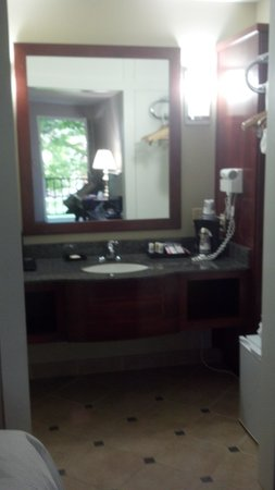 Best Western Plus Burley Inn & Convention Center: Updated bath area