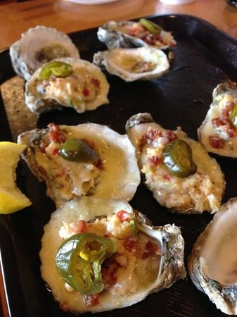 Bailey's Crab House and Seafood Market: loaded (bacon, cheese, crab meat, and jalapeño