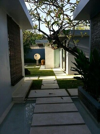 Kembali Villas: Entrance to our Villa
