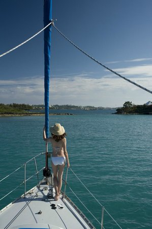 Sail Bermuda Private Charters: I'm in Heaven