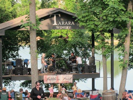 Tarara Winery: The Concert Pavilion