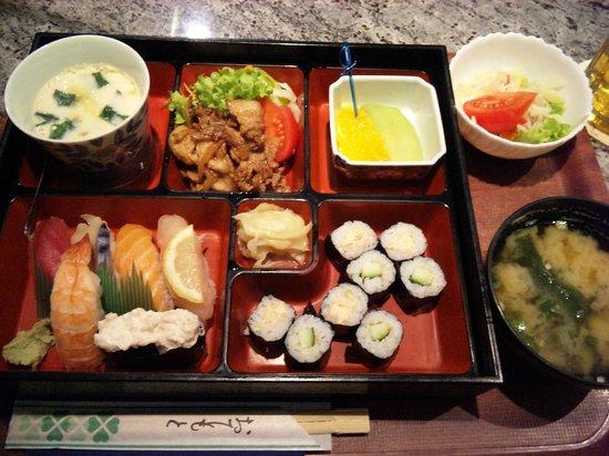 Nippon-kan: Sushi & Shoga yaki bento