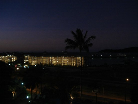 at Boathaven Spa Resort: Night view