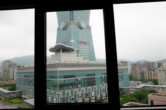 Grand Hyatt Taipei: View of the 101 Building from our room