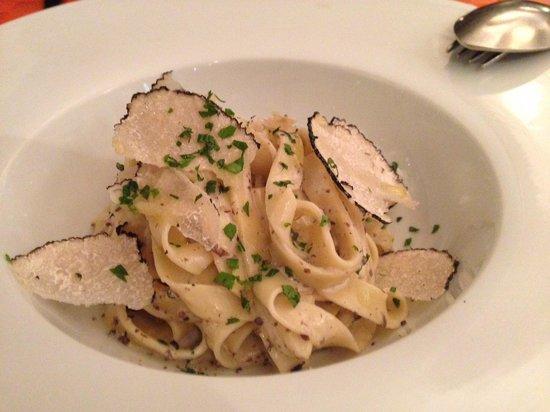 Il Tartufo: truffle pasta
