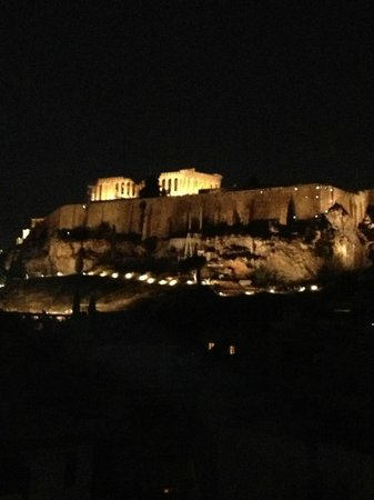 The Athens Gate Hotel: View from the roof top
