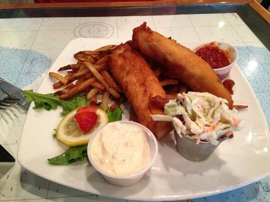 Fresh on the Fly: Fish and Chips