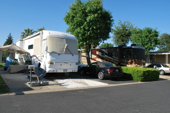 Mark J RV Park: Motorhomes, 5th wheels and travel trailers....