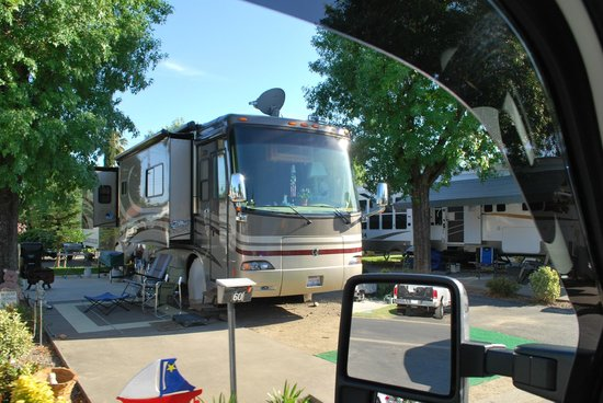 Mark J RV Park: large rigs fit in here, also....