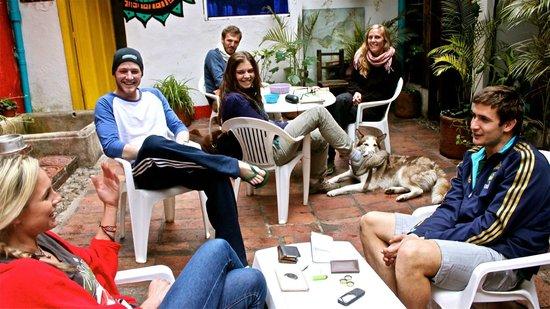 Alegria's Hostel: relax..