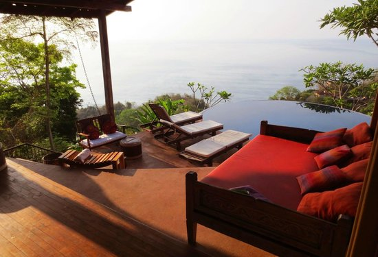 Anamaya Resort & Retreat Center: outside deck