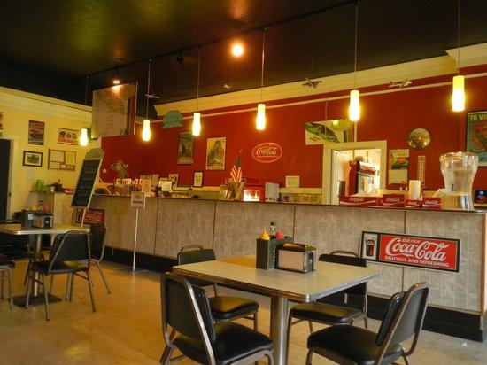 Betty Bombers: Inside of the Restaurant