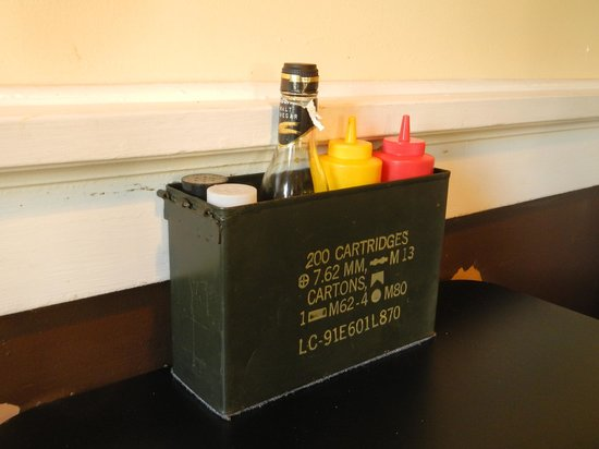 Betty Bombers: Cool Condiment Holder