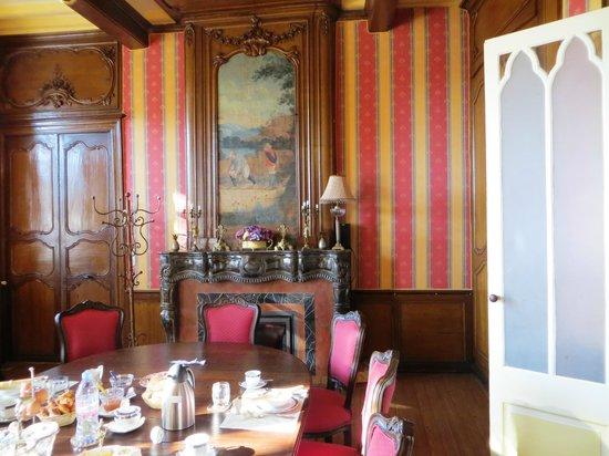 La Batellerie: Breakfast area