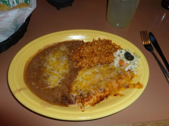 Zapata's Mexican Restaurant : Mexican dinner