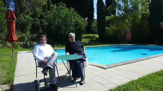 Vignamaggio: Swimming pool area